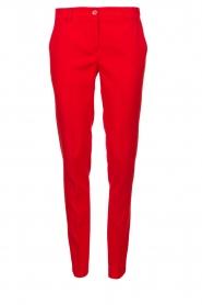 Kocca |  Classic pantalon Lian | red  | Picture 1