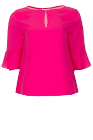 Kocca |  Top with elegant sleeves Plan | pink  | Picture 1