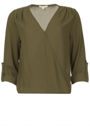 Kocca |  Wrap blouse | green  | Picture 1