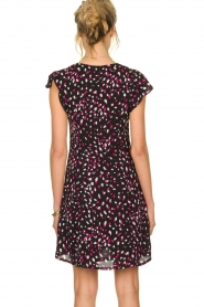 Kocca |  Dress with dots Negasy | Black   | Picture 6
