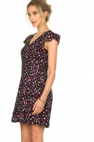 Kocca |  Dress with dots Negasy | Black   | Picture 5