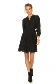 Kocca |  Dress with fringes Ozena| black   | Picture 7
