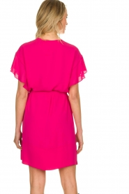 Kocca |  roze | Dress with belt Lifana  | Picture 5