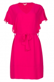 Kocca |  roze | Dress with belt Lifana  | Picture 1