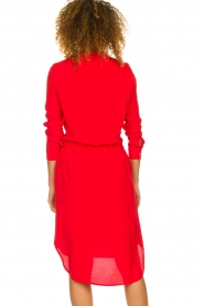 Kocca |  Dress with button details Under | red  | Picture 7