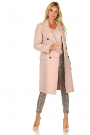 Arma | Woolen jacket Touraine | pink  | Picture 3