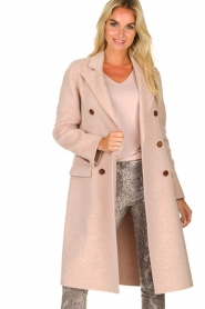 Arma | Woolen jacket Touraine | pink  | Picture 4