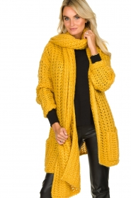Be Pure | Scarf Milou | yellow  | Picture 2