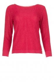 Kocca |  Crochet sweater Kuna | pink  | Picture 1