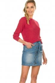 Kocca |  Crochet sweater Kuna | pink  | Picture 2