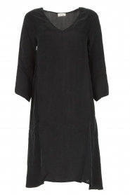 American Vintage |  Wide midi dress Nonogarden | black  | Picture 1