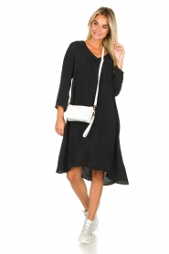 American Vintage |  Wide midi dress Nonogarden | black  | Picture 3