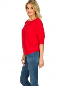 Kocca |  Classic sweater Adams | red  | Picture 5