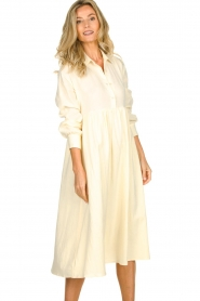 American Vintage |  Midi dress Epifun | pastel yellow  | Picture 2