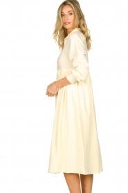 American Vintage |  Midi dress Epifun | pastel yellow  | Picture 4