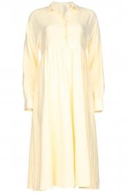 American Vintage |  Midi dress Epifun | pastel yellow  | Picture 1