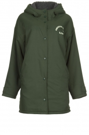 American Vintage |  Teddy lined parka Pinede | green  | Picture 1