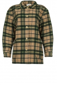 American Vintage |  Oversized coat Billy | green  | Picture 1
