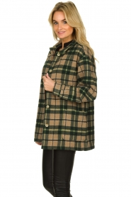 American Vintage |  Oversized coat Billy | green  | Picture 4