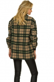 American Vintage |  Oversized coat Billy | green  | Picture 5