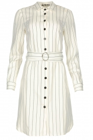 Kocca |  Buttoned dress Beryl | white  | Picture 1