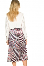 Kocca |  Pleated midi skirt with print Osyl | multi  | Picture 5