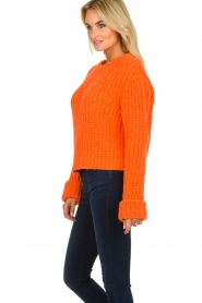 American Vintage | Knitted sweater Boolder | orange  | Picture 4