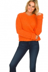 American Vintage | Knitted sweater Boolder | orange  | Picture 2