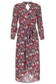 Kocca |  Floral maxi dress Autim | red  | Picture 1