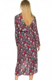 Kocca |  Floral maxi dress Autim | red  | Picture 6