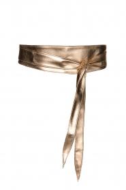 Kocca |  Wrap belt Aveda | rose gold  | Picture 1