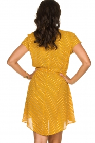 American Vintage | Dress with print Azulay | yellow  | Picture 5