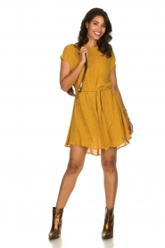 American Vintage   Dress with print Azulay   yellow    Picture 3