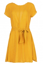 American Vintage | Dress with print Azulay | yellow  | Picture 1