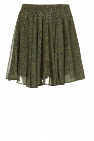 American Vintage | Skirt with print Inostate | green  | Picture 1