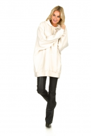 American Vintage | Oversized sweater Kinouba | natural  | Picture 3