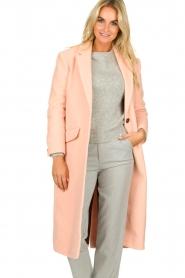 American Vintage | Woolen coat Bilofield | pink  | Picture 2