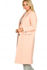 American Vintage | Woolen coat Bilofield | pink  | Picture 4