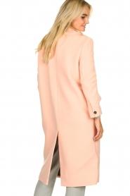 American Vintage | Woolen coat Bilofield | pink  | Picture 5