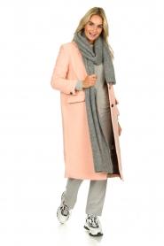 American Vintage | Woolen coat Bilofield | pink  | Picture 3
