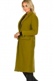American Vintage | Woolen coat Bilofield | green  | Picture 4