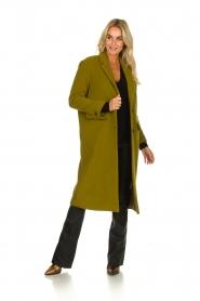 American Vintage | Woolen coat Bilofield | green  | Picture 3