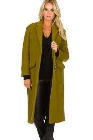 American Vintage | Woolen coat Bilofield | green  | Picture 2