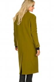 American Vintage | Woolen coat Bilofield | green  | Picture 5