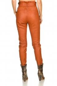 Dante 6 | Leather pants Duncan | camel  | Picture 5