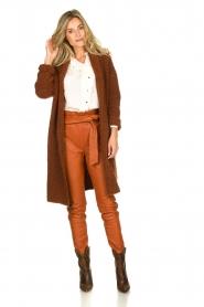 Dante 6 | Leather pants Duncan | camel  | Picture 3