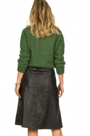 Dante 6 |  Leather skirt Reid | black  | Picture 5