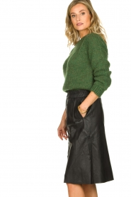 Dante 6 |  Leather skirt Reid | black  | Picture 4