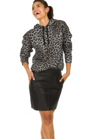 Set |  Sweater with leopard print Ria | animal print  | Picture 4