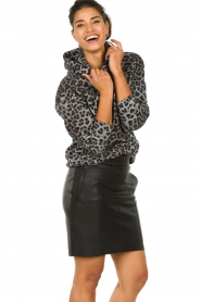 Set |  Sweater with leopard print Ria | animal print  | Picture 2